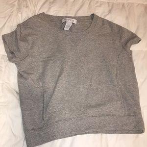 Cute sweatshirt shirt sleepover with pockets